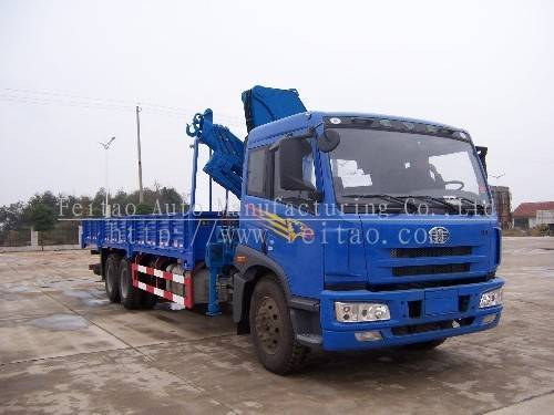 12t knuckle boom truck mounted crane(12 ton lifting weight)