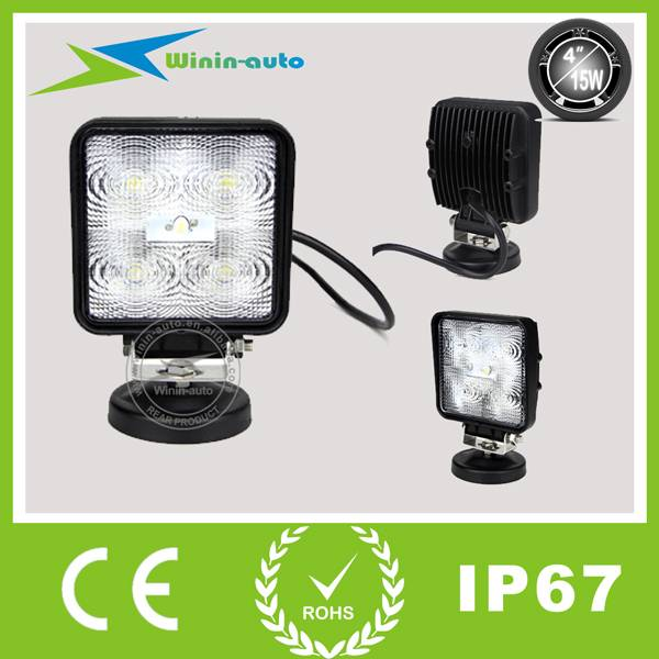 4 15W LED Driving lights for ATV SUV 1150 Lumen WI4153