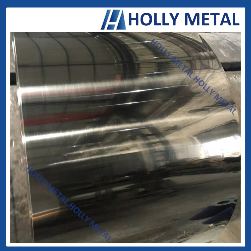 Cold Rolled Stainless Steel Coil 201 BA Polished Surface
