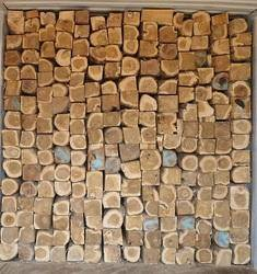 Teak wood blocks