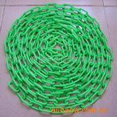 Plastic chain, warning chain