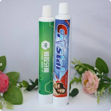 High quality aluminum laminated toothpaste tube packaging