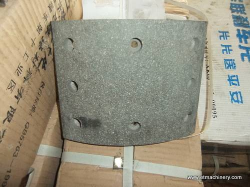 sell brake pad for truck crane