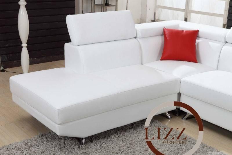 Leather Sofa Corner Sofa L. Al112