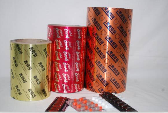 High quality blister packing aluminium foil 8011 H18 Printed