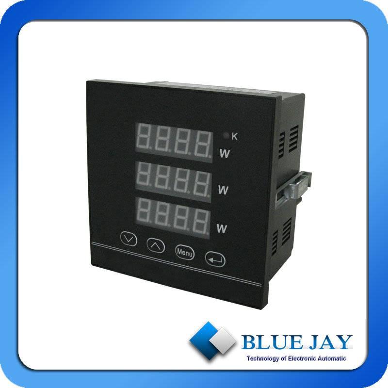 Power Analyzer Digital Multifunction Power Factor Meter