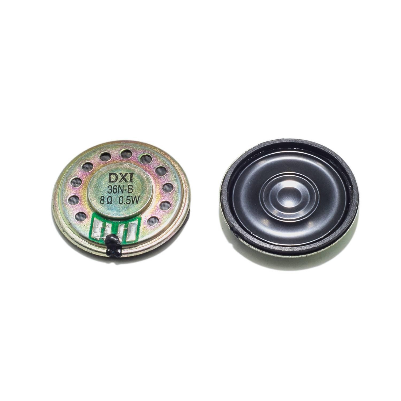 36mm mylar core speaker DXI36N-B intercom speaker