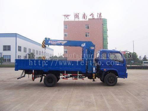 FEITAO small truck mounted crane-3ton truck crane