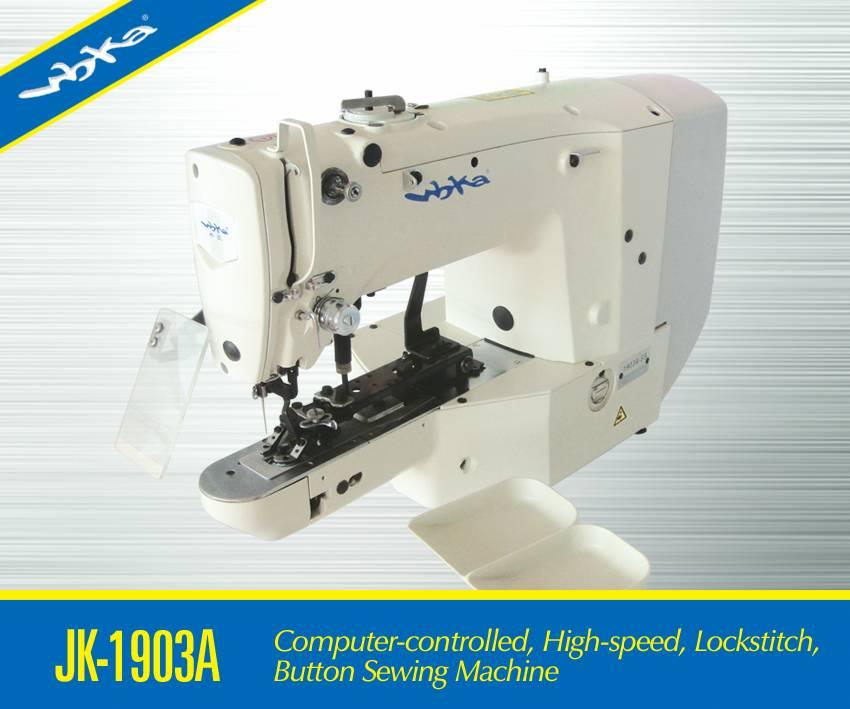 JK-1903A Computer-controlled High speed Lockstitch Button Sewing Machine