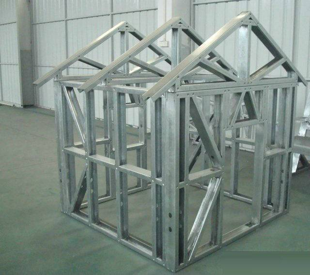 selll galvanized steel house frame