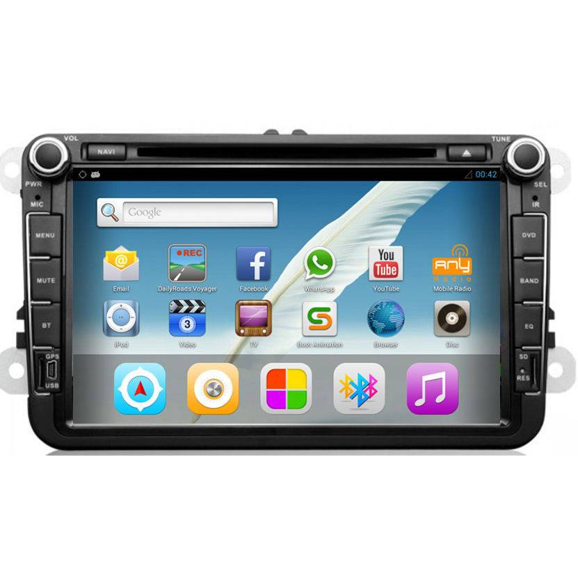 Car DVD/GPS/Bluetooth/Android For Volkswagen/Seat/Skoda Cars