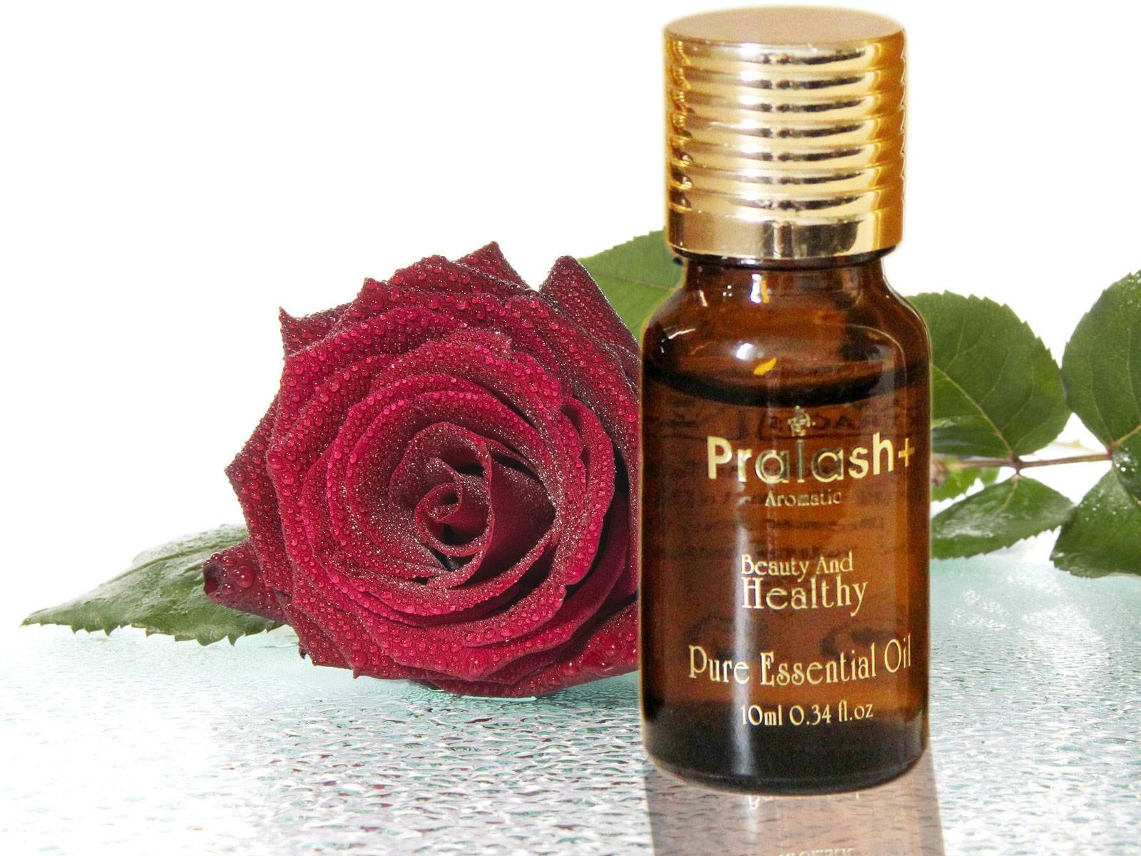 Pralash pure rose essential oil for whitening