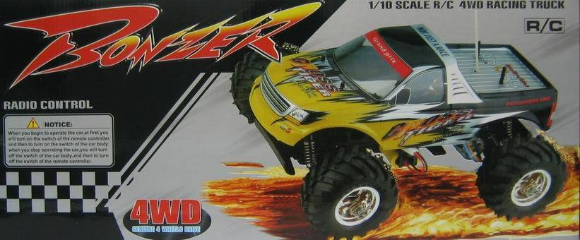 Radio Control Off Road ESC Monster Truck RTR RC