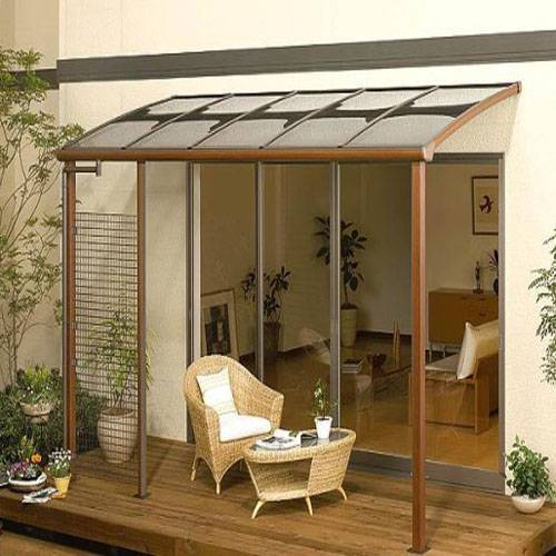 Collapsible awnings, Aluinum frame window awning