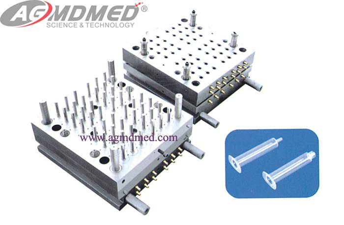 Disposable Syringe Barrel Mould
