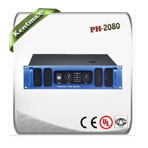 Supply PH series PH-2080 professional amplifier