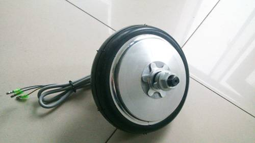 6 inch brushless gear electric scooter hub motor