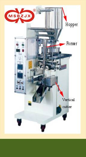 JX010-Automatic Double chamber tea bag packaging machinery