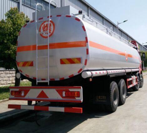 Transport Liquid Oil Carbon Steel Fuel Tanker Truck