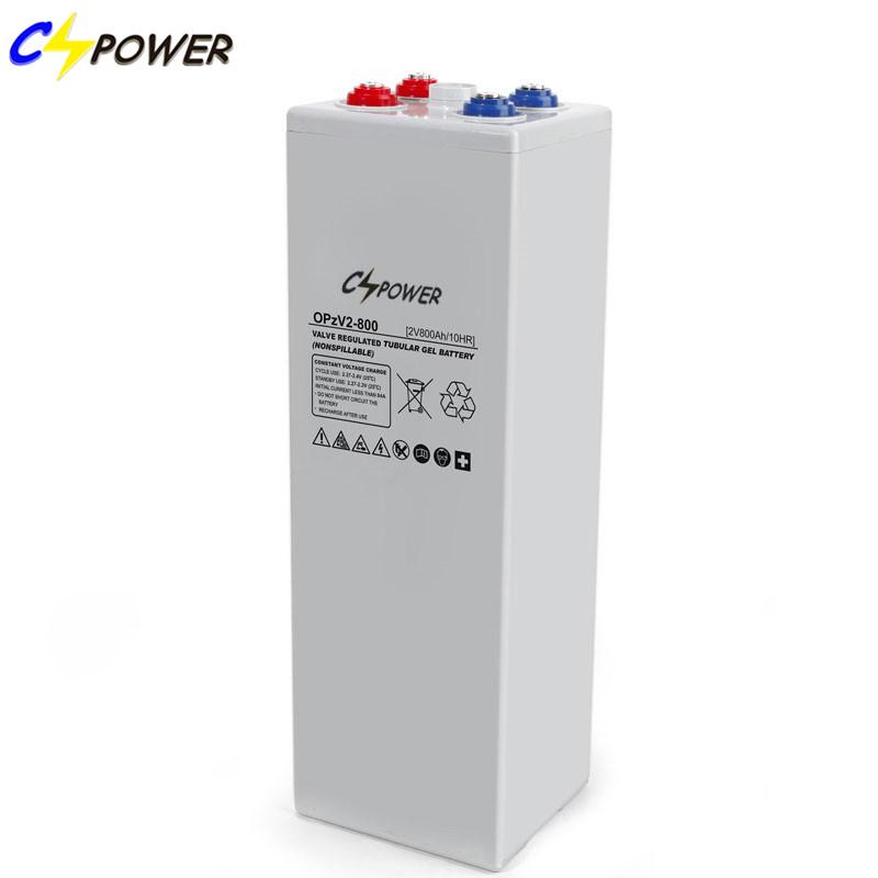 Valve-Regulated 2 Volt Lead Acid Solar Batteries Opzv 2V 800ah