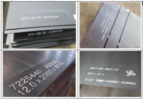 A283Gr.C steel plates for sale