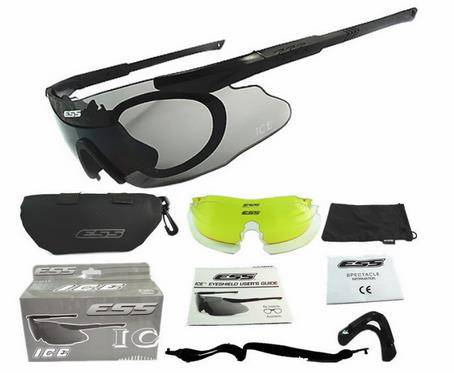 Updated ESS Crossbow tactical glasses