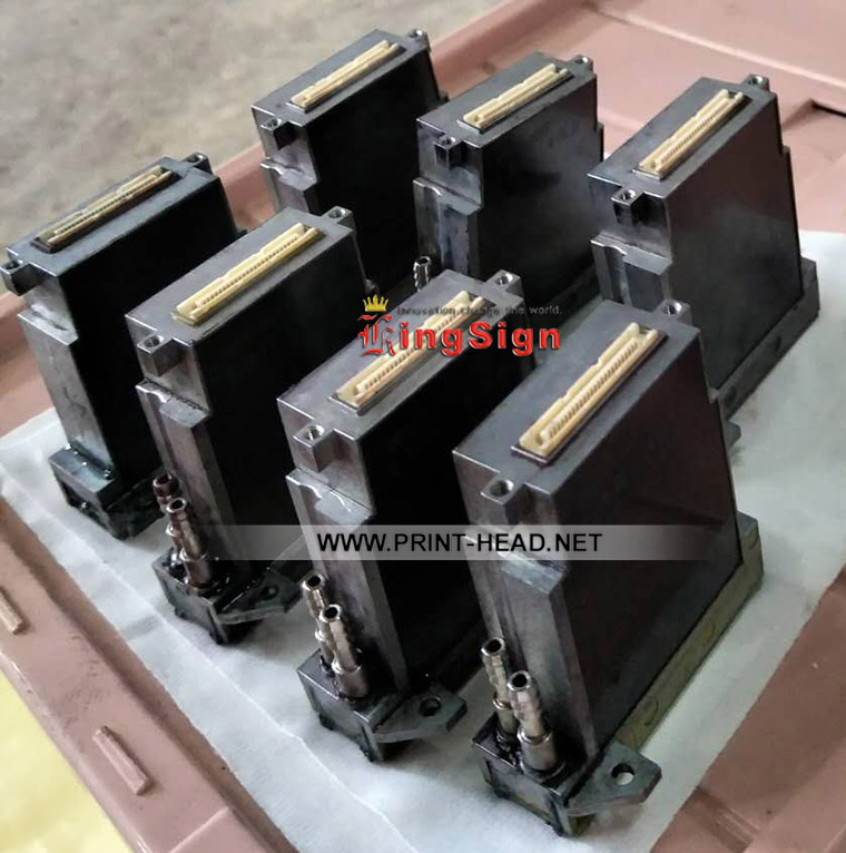 Used KM512MN-14PL Printhead