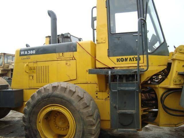 Used Komatsu WA300 WA300-1 WA320-3 WA350 WA350-3 WA360 WA360-1 WA380 WA380-1 WheelLoaders
