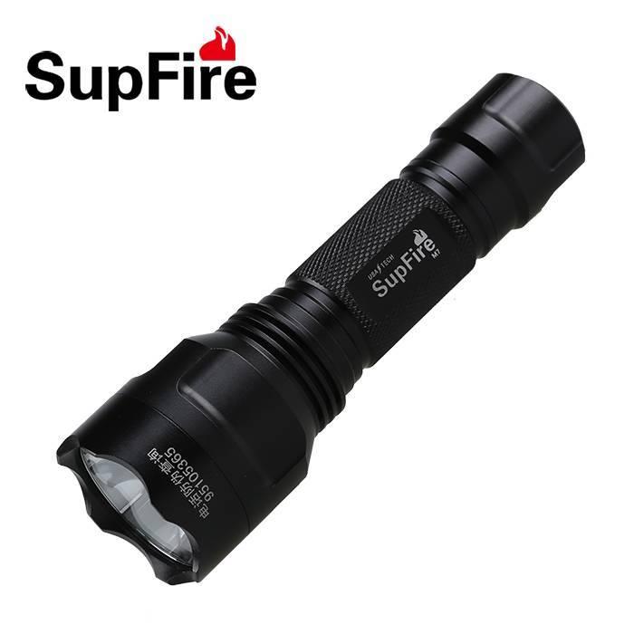 High brightness 3W biking and camping rechargeable LED flashlight SupFire M7