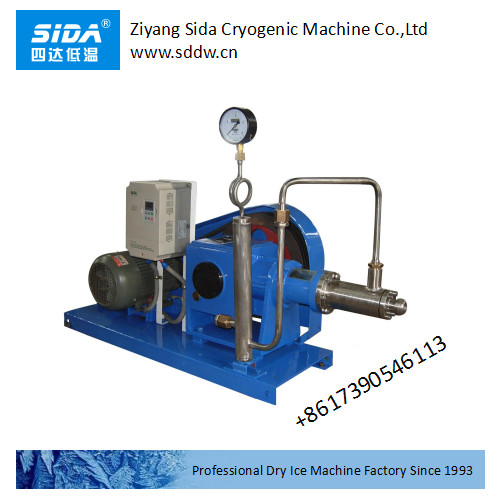 Sida factory WBCO2-1000T/100 cryogenic pump