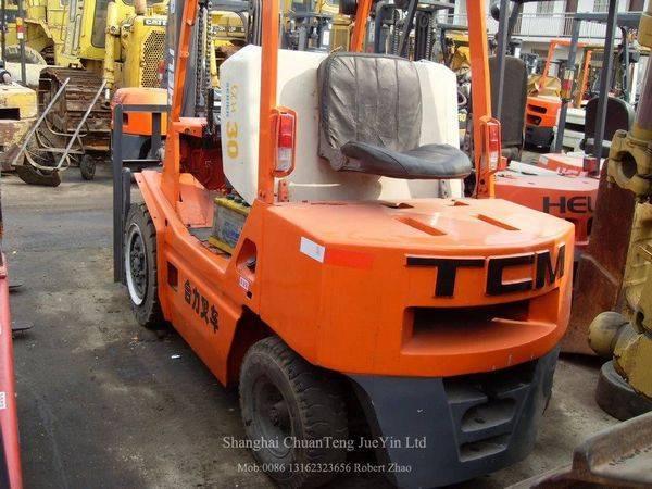 Used TCM 2ton 2.5ton 3ton 4ton 5ton 6ton 25ton Forklifts