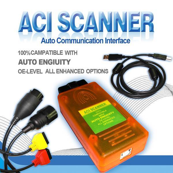 ACI AUTOENGINUITY SCANNER with BMW and MB Adapter