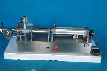Piston Filler For Thin Liquid Filling