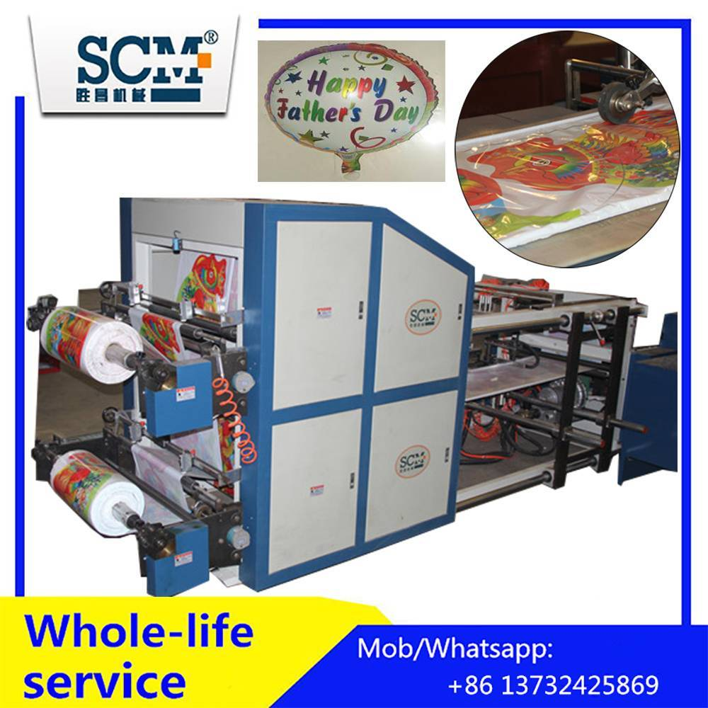 Automatic nylon membrane balloon making machine/hydrogen balloon making machine