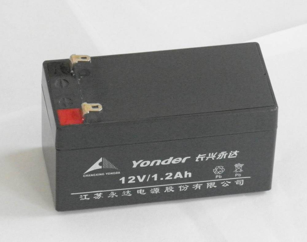 12V1.2AH battery sealed lead acid VRLA battery