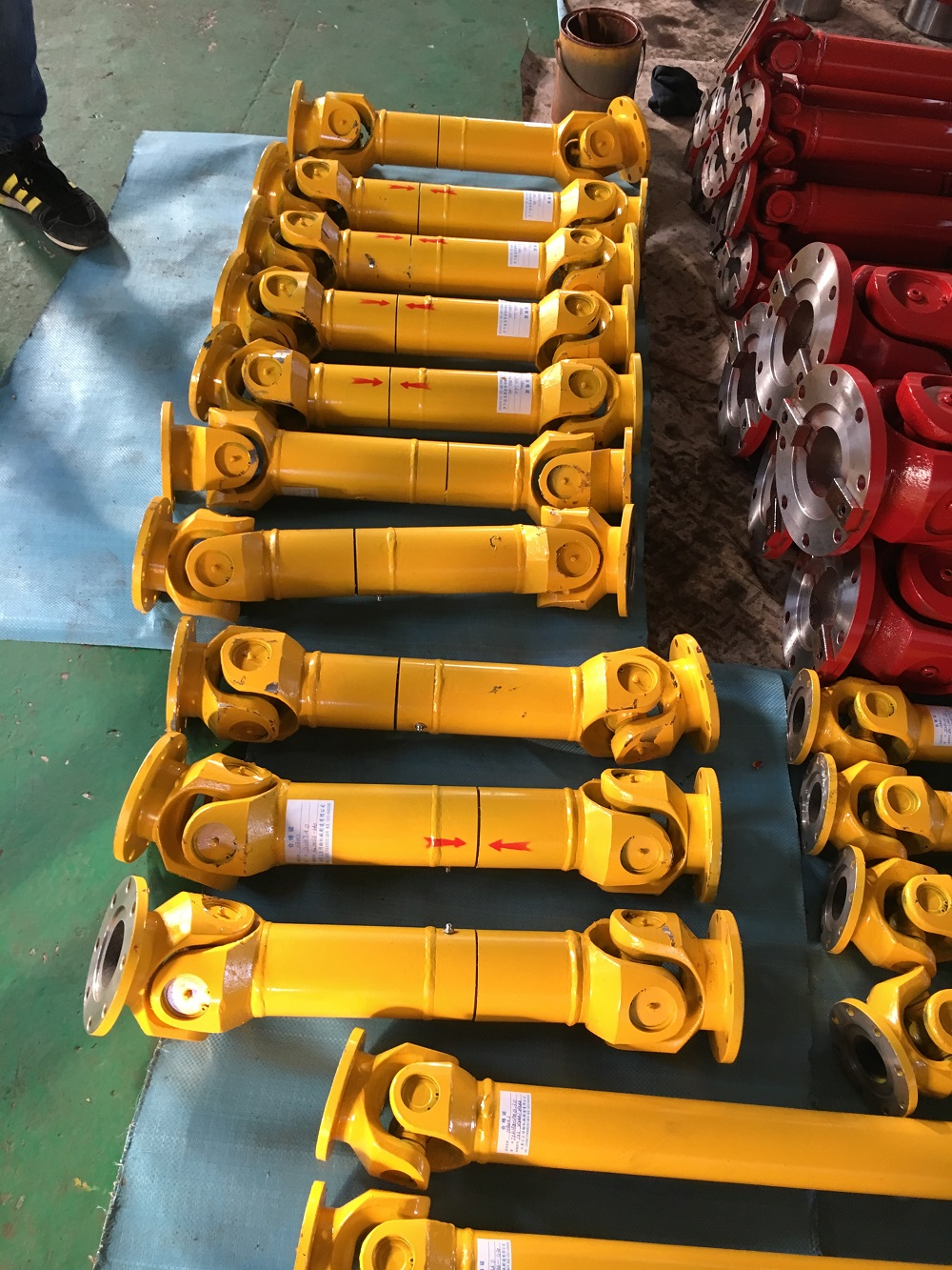 Sell Telescopic SWC-BF cardan shaft with double flange
