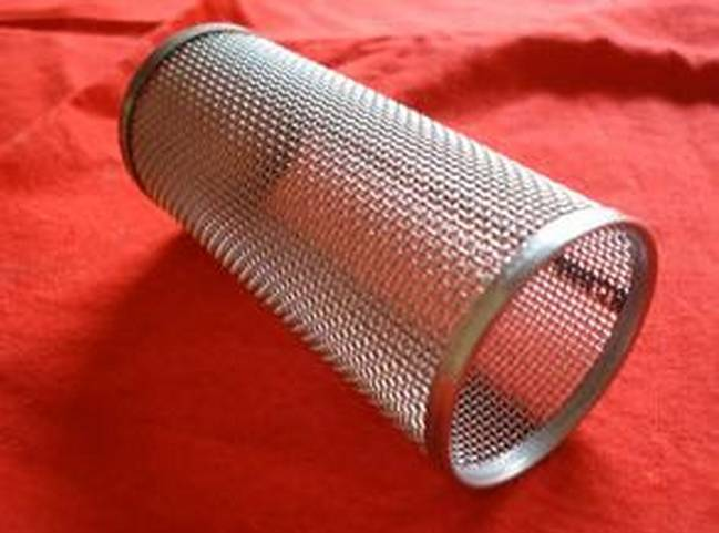 Wire Mesh Metal Filter Tube