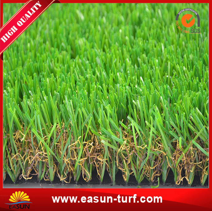 Artificial plastic grass mat for garden-ML