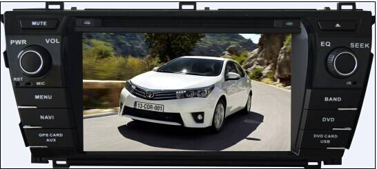 car dvd player for 2014 Toyota Corolla