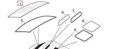 SAIC MAXUS V80 Windshield Glass Genuine