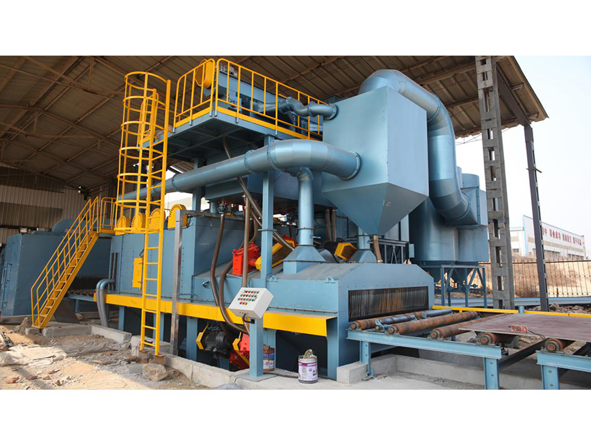 H Beam Special Shot Blasting Machine