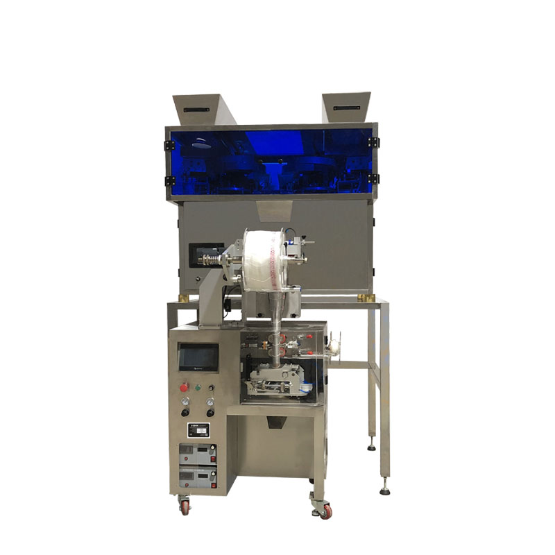 Automatic Pyramid Tea Bag Packing Machine With Thread and Tag