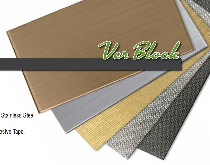 Stainles Steel Tile_VERBLOCK / VERBLOCK PLUS