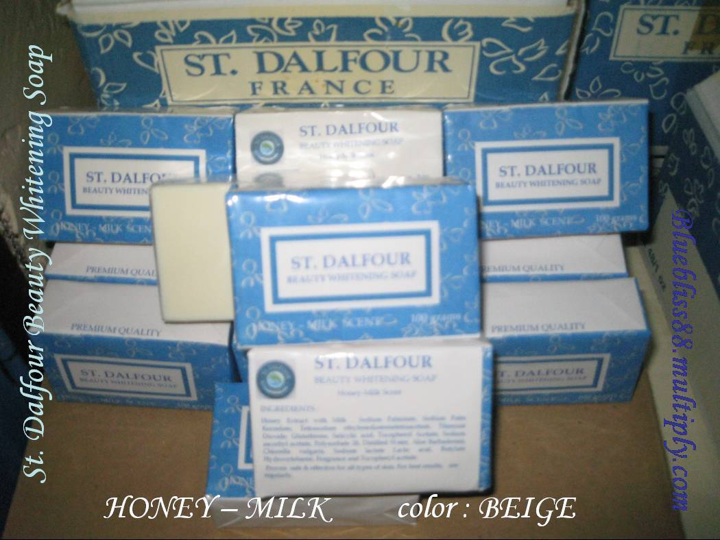 St. dalfour Beauty Whitening Soap