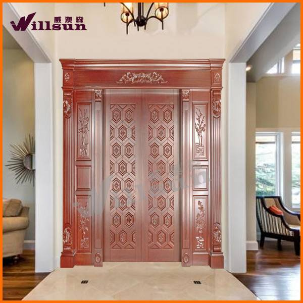 oak wood exterior door