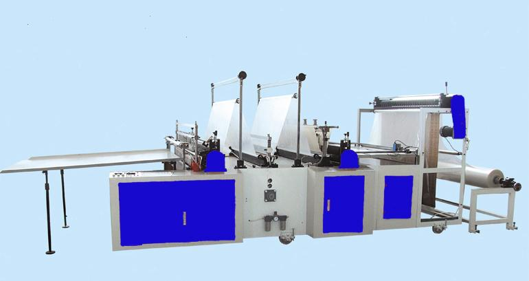 Thick Plastic Bag Cutting Machine with Flying Cutter
