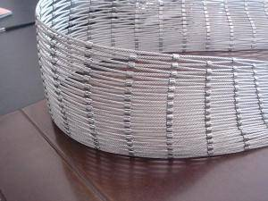 High Quanlity And High Tension Stainless Steel Wire Rope Mesh