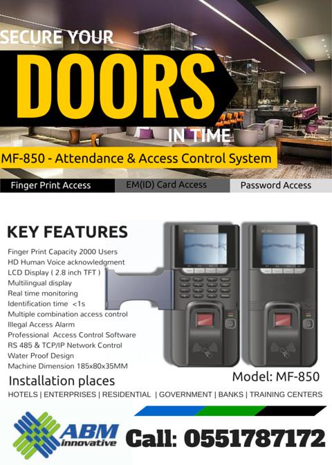 Door access control repairing Dubai : 0551787172