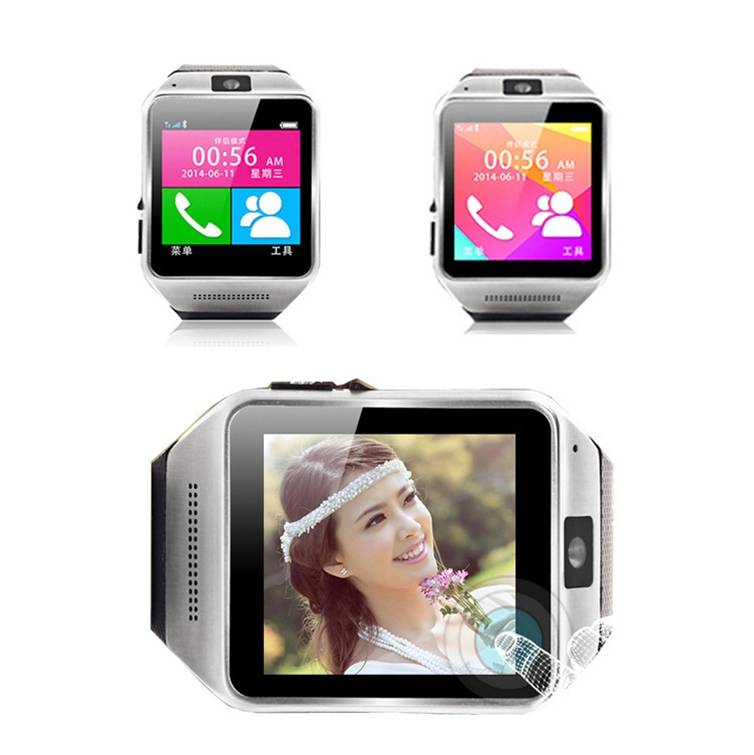 bluetooth 3g sim card gsm gps wifi GV08 smart watch phone