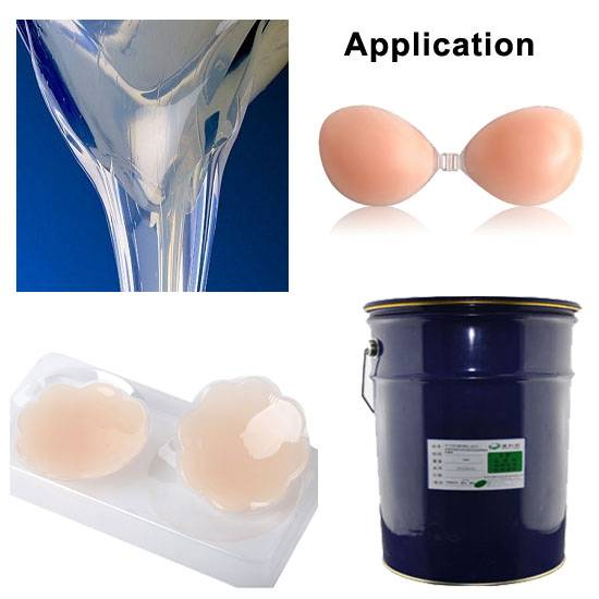 Liquid silicone adhesive glue for Bra